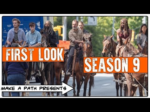 FIRST REAL LOOK AT THE CAST - The Walking Dead Season 9