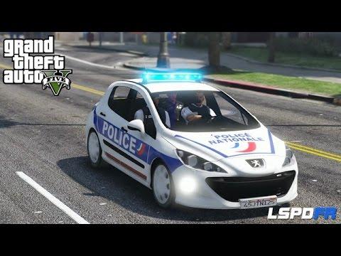 GTA 5 - LSPDFR - POLICE NATIONALE - INDIVIDUS ARMÉS - CAMBRIOLAGE - JOUR 5
