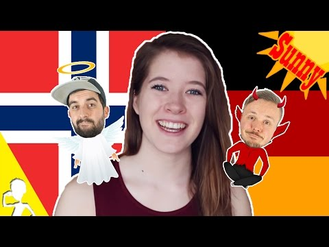 Germans React To Sunny Speaking German 🌞 Get Germanized And VlogDave
