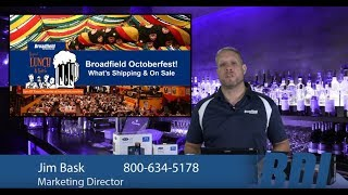 Octoberfest What's Shipping & On Sale Broadfield Liquid Lunch & Learn with Jim