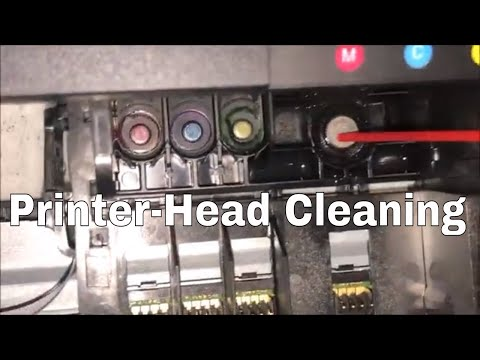 HOW TO CLEAN PRINTER HEADS ON A HP OFFICEJET PRO 6960/6962/6968/6978 PRINTERS
