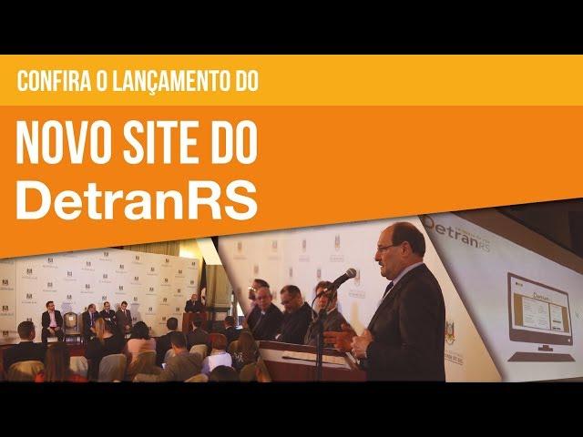 No dia 04/12/2018, foi lançado o novo portal do DetranRS (www.detran.rs.gov.br). O site, planejado em uma parceria com a PROCERGS, trouxe diversas facilidades para o usuário. Confira no vídeo!