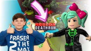 We are Roasted Turkeys! Roblox Deathrun with Fraser2theMax! SallyGreenGamer Geegee92 Family Gaming