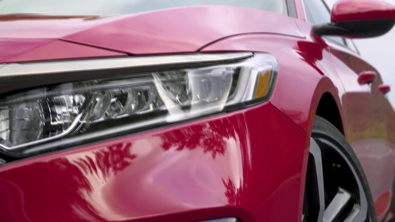 2018 Honda Accord Led Headlights Tail Lights