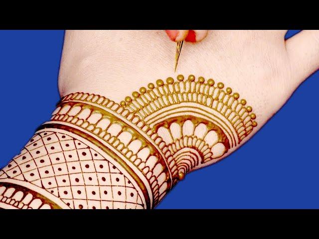 Rakhi Special Mehndi Design for Hands   New Floral Mehndi Design by Sonia Goyal #347