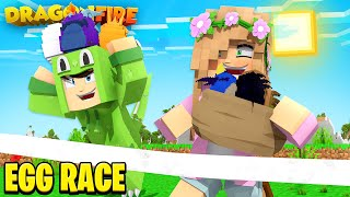 DRAGON EGG HUNT! RACE TO THE FINISH! | Minecraft DragonFire | Little Kelly #9