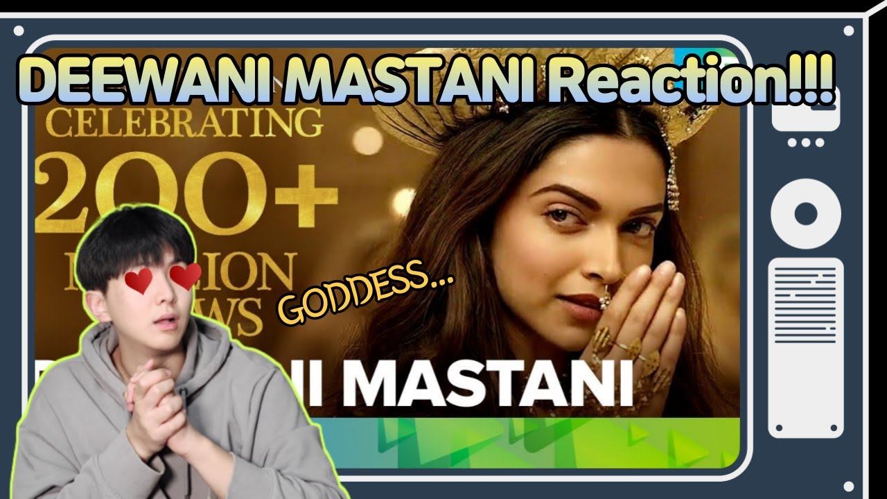 Most famous Indian song in South Korea! | Deewani Mastani Reaction!!!