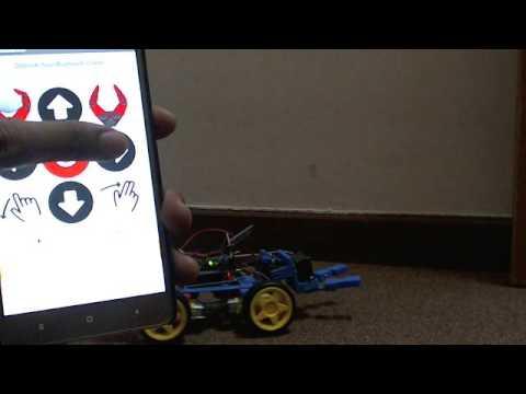 Robot capit bluetooth