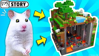 The world's largest hamster maze - obstacle course! #2 🐹 Come and Enjoy - Homura Ham