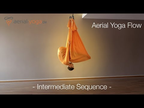 Aerial Yoga Flow - Intermediate Sequence - Jost Blomeyer