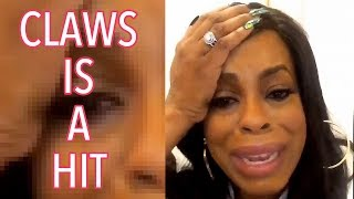 Niecy Nash Cries About #ClawsTNT Success