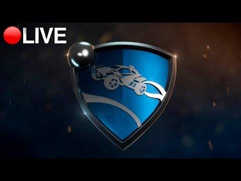 LIVE Rocket League - RANKED e PRIVADAS #MandaLoots