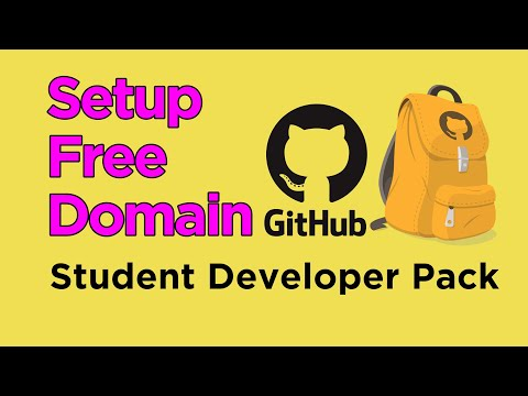 Free Domain And Web Hosting With GitHub Student Developer Pack And Namecheap
