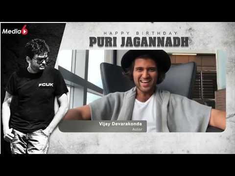 Puri Jagannadh Special Birthday wishes | Happy Birthday PuriJagannadh | Ram,vijay devarakonda,charmi