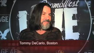 WPXI - See & Be Seen eats dinner with band Boston before Pittsburgh concert