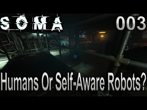 Humans Or Self-Aware Robots? 003 (SOMA)
