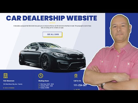 How to Make a Car Dealership Website | with Wordpress - 2021