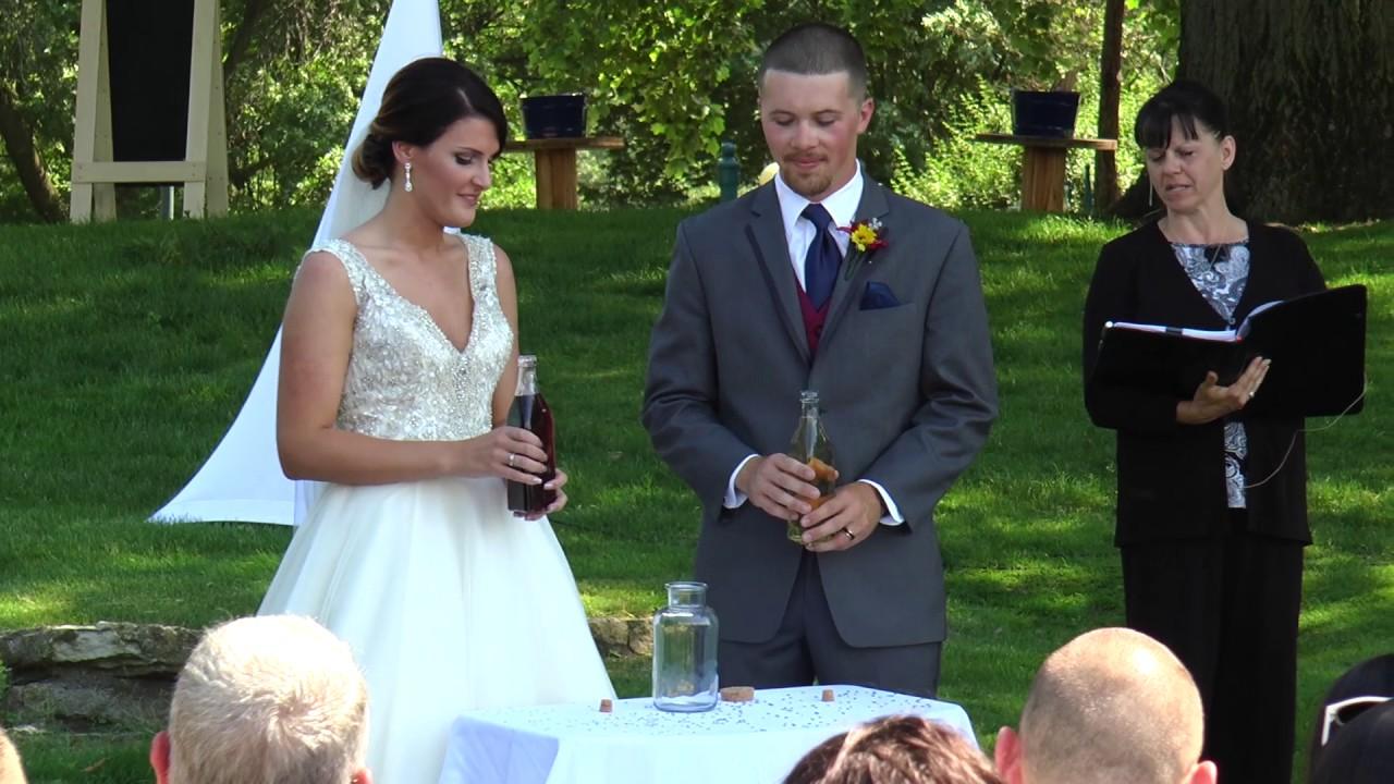 The Wine Pouring Unity Ceremony
