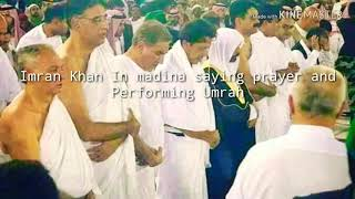 Imran Khan(Pakistan Prime Minister) in Saudia Arabia //Performing Umrah and Saying His Prayers