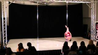 Pacific Pole Championships 2012 - Level 2, Artistic Dramatic category - 3rd place winner