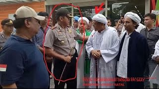 Heboh !! Polisi Ini Emosi Dengan Oknum FPI Sragen Yang Sweeping Atribut Natal