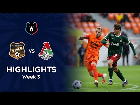 Ural Lokomotiv Moscow Goals And Highlights