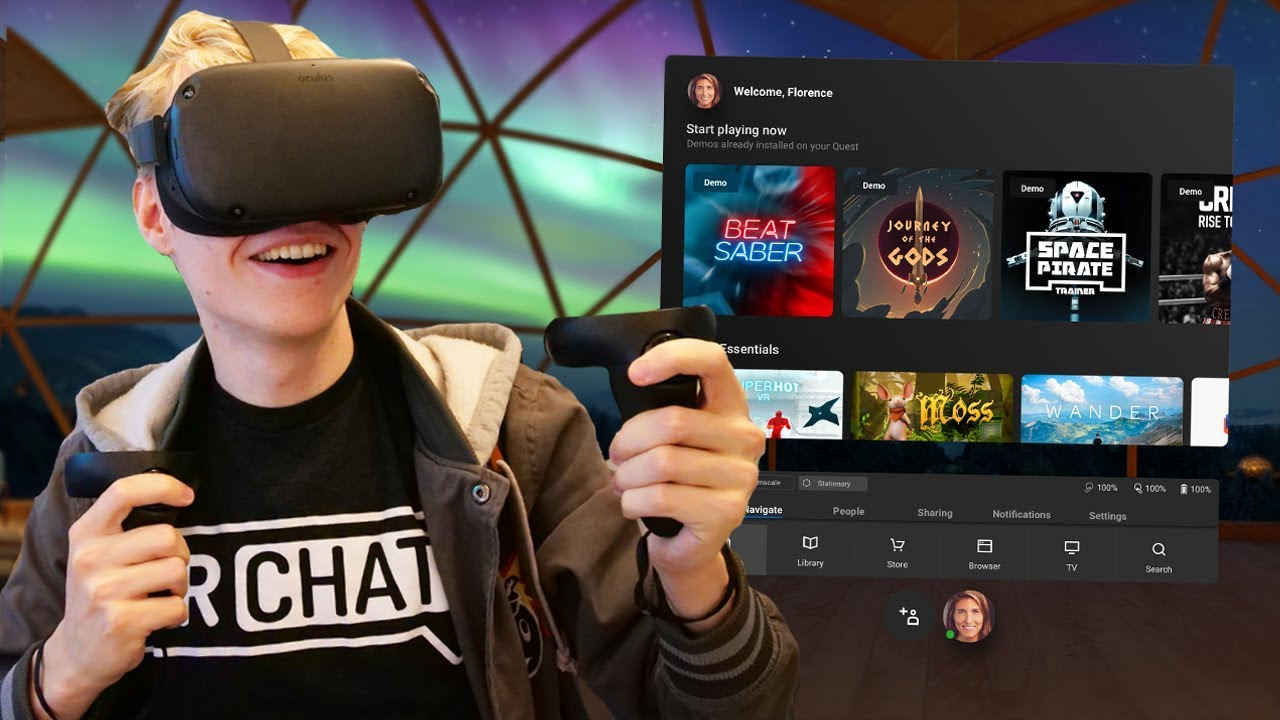 Oculus Quest vs HTC Vive Focus Plus - The Ghost Howls
