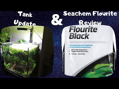 Update On The 24g Aquatop Planted Tank: Review Of Seachem Flourite