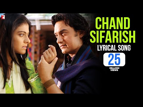 Lyrical: Chand Sifarish Song with Lyrics  Fanaa  Aamir Khan  Kajol  Prasoon Joshi
