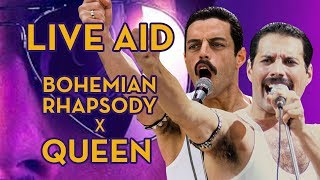 Baixar Live Aid, from the movie Bohemian Rhapsody (2018) and Queen concert (Not Comparisons)