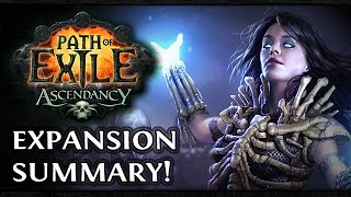PATH of EXILE ASCENDANCY Expansion! - ZiggyD