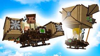 NIESAMOWITE MASZYNY LATAJĄCE! - Minecraft EWO