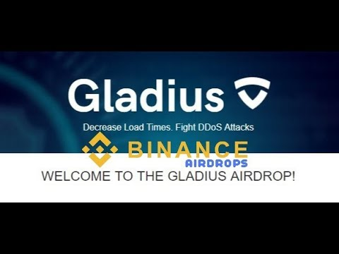 GLADIUS COIN Free Airdrop live    BINANCE CRYPTO AIRDROPS 2018
