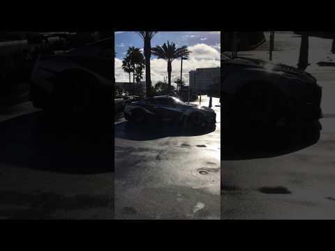GTR leaving Cars and Coffee Huntington Beach