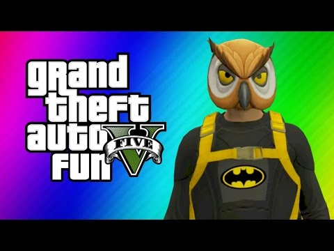 Thumbnail: GTA 5 Online Funny Moments - Halloween Preparation, Batman, Dark Knight Rises Parody Skits!