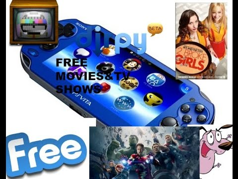 download free tv shows for ps vita