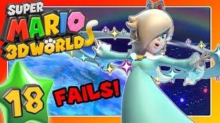 SUPER MARIO 3D WORLD 🐱 Part 18: Rosalina und der fürchterliche Einstand in World Star