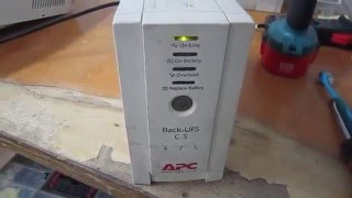 Обзор источника бесперебойного питания (UPS) APC Back-UPS CS 475