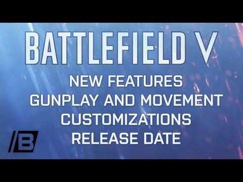 Battlefield 5 FIRST LOOK - World war 2 |  Fortifications | Co-op Combined arms | new gunmechanics