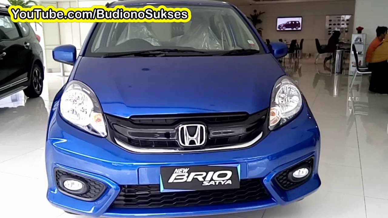 new brio satya 2016 interior eksterior - youtube