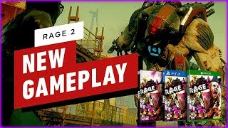 RAGE 2 First Demo Gameplay ( PS4 XB1 PC )
