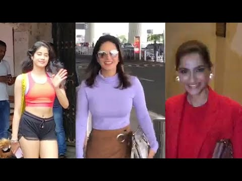 Sonam Kapoor, Dulquer Salmaan, Sunny Leone others spotted in Mumbai Mp3