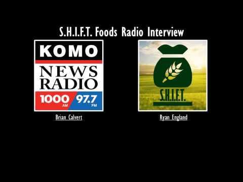 Ryan England from S.H.I.F.T. Foods interviewing with KOMO Radio
