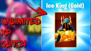 3 UNLIMITED XP GLITCHES/METHODS IN FORTNITE SEASON 7 BATTLE ROYALE!! Get the Max Ice King FAST