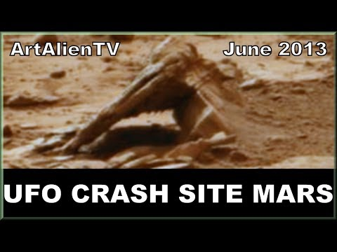 "UFO CRASH SITE MARS: Curiosity 198 Anomalies. ""Endless Journey"". ArtAlienTV - 720p"