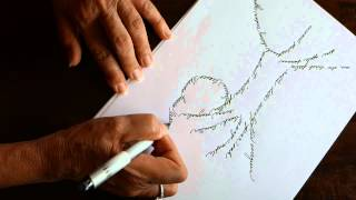 How to draw a Calligram