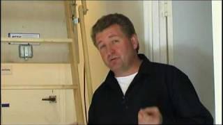 Attic Ladder Installation & Dust Proof Room Conversion