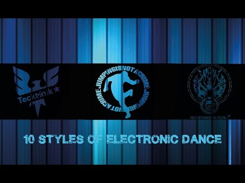 10 Dance Styles of Electronic Music