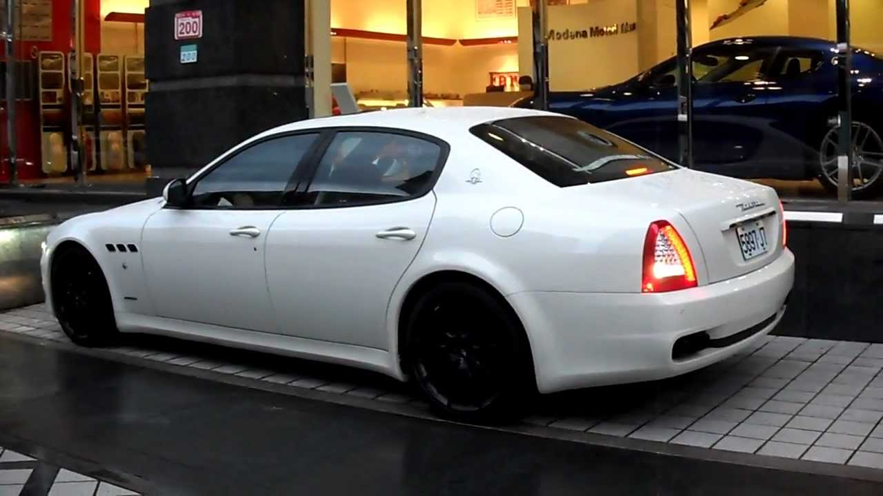 瑪莎拉蒂maserati Quattroporte 4 7 Sport Gts Start Engine Youtube