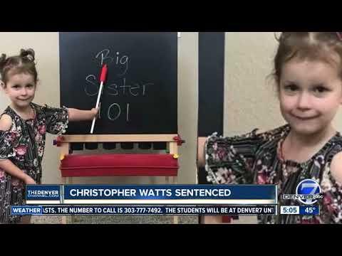 Christopher Watts sentenced
